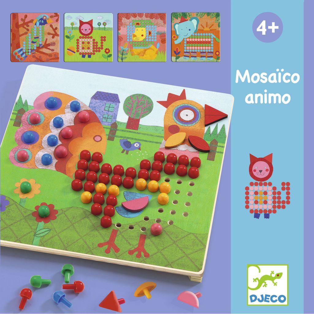 Mosaico Animo Mosaic Design Toy