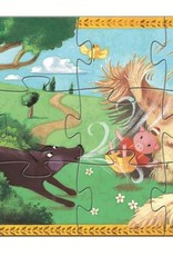 The 3 Little Pigs 24pc Silhouette Puzzle