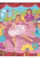 Ballerina 36pc Silhouette Puzzle by Djeco