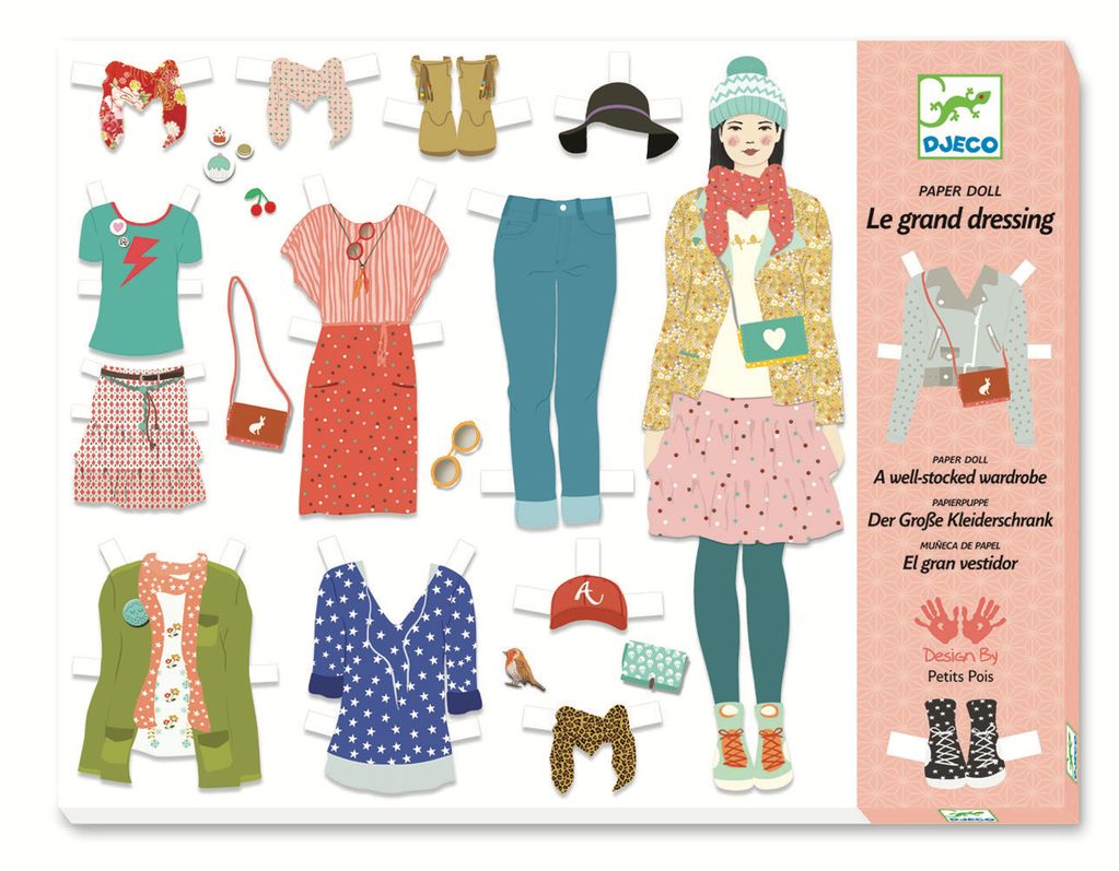 Paper Doll Set by Djeco