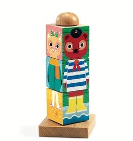 Twistanimo Wooden Puzzle Blocks