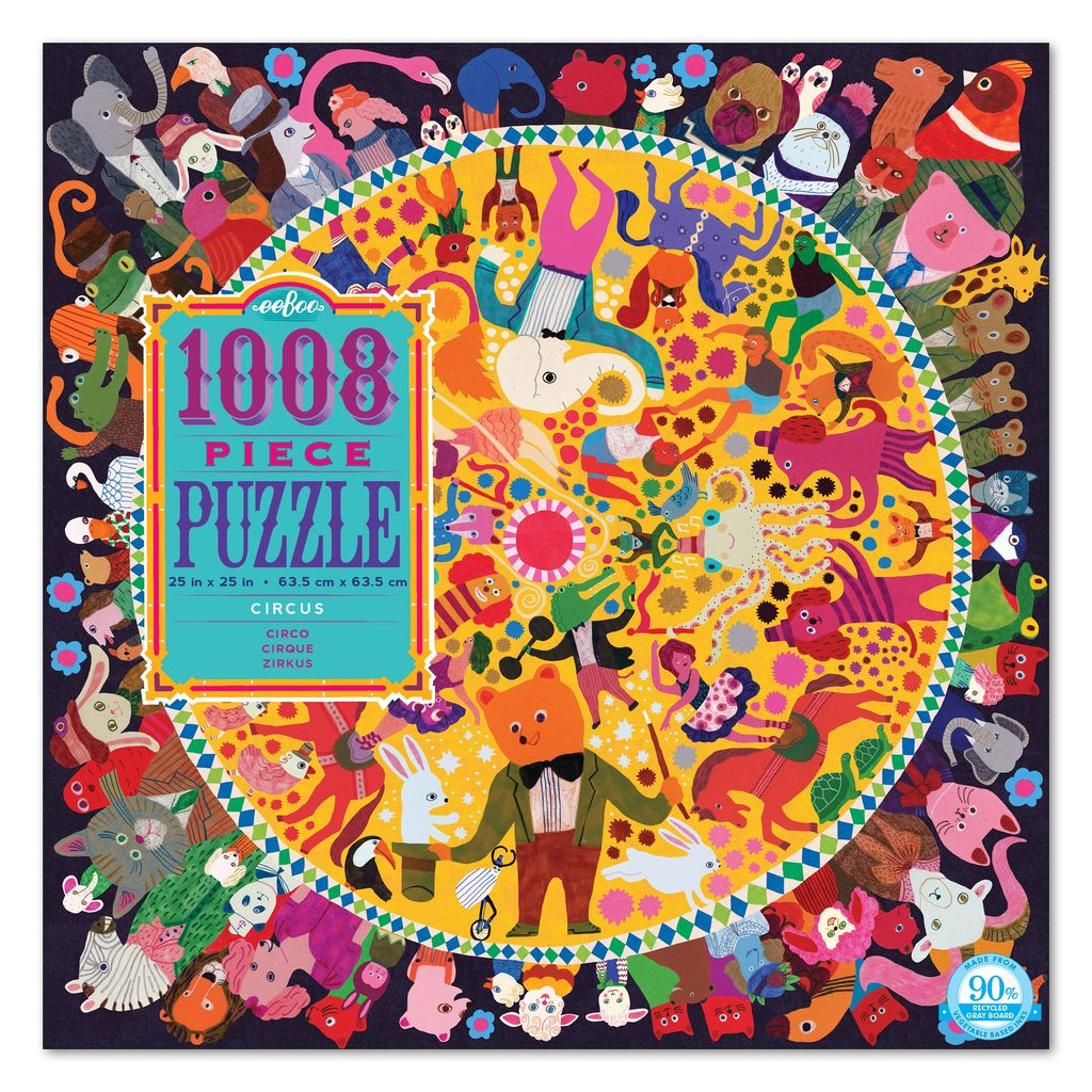 Circus 1008pc Puzzle by eeBoo