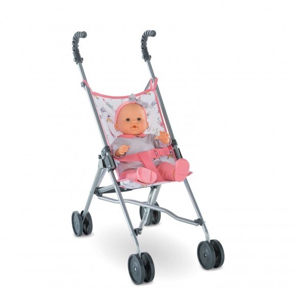"Corolle Umbrella Stroller for 14-17"" Dolls"