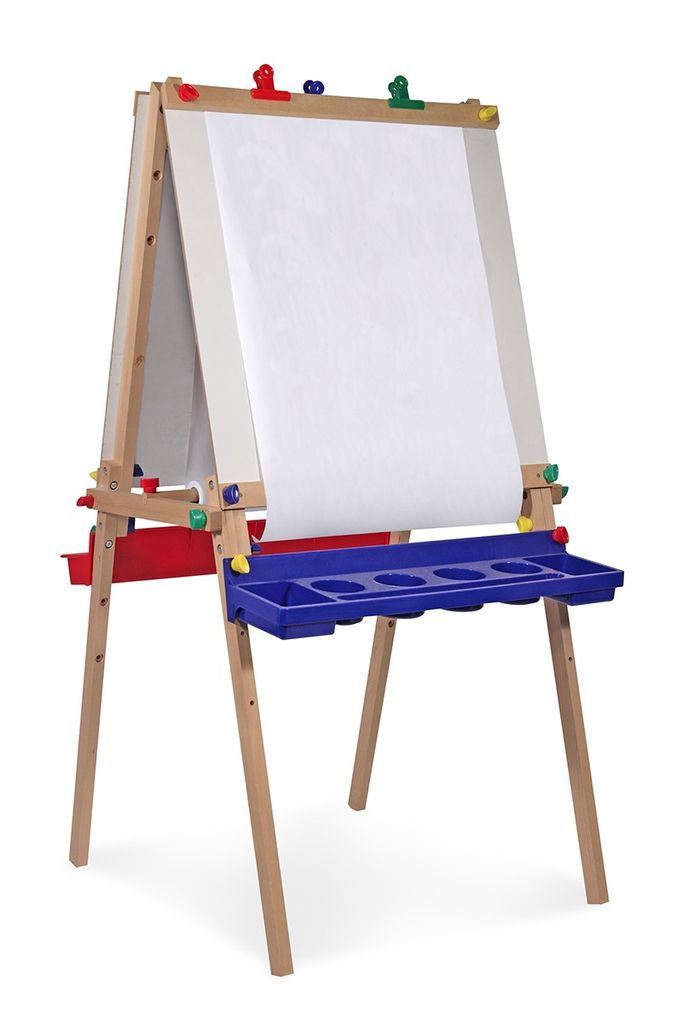 Deluxe Wooden Standing Art Easel (non-magnetic)