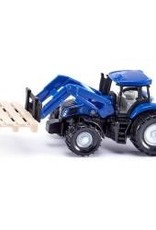 Siku Tractor with Fork for Pallets and Pallet