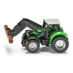 Siku Tractor with Pliers for Wood