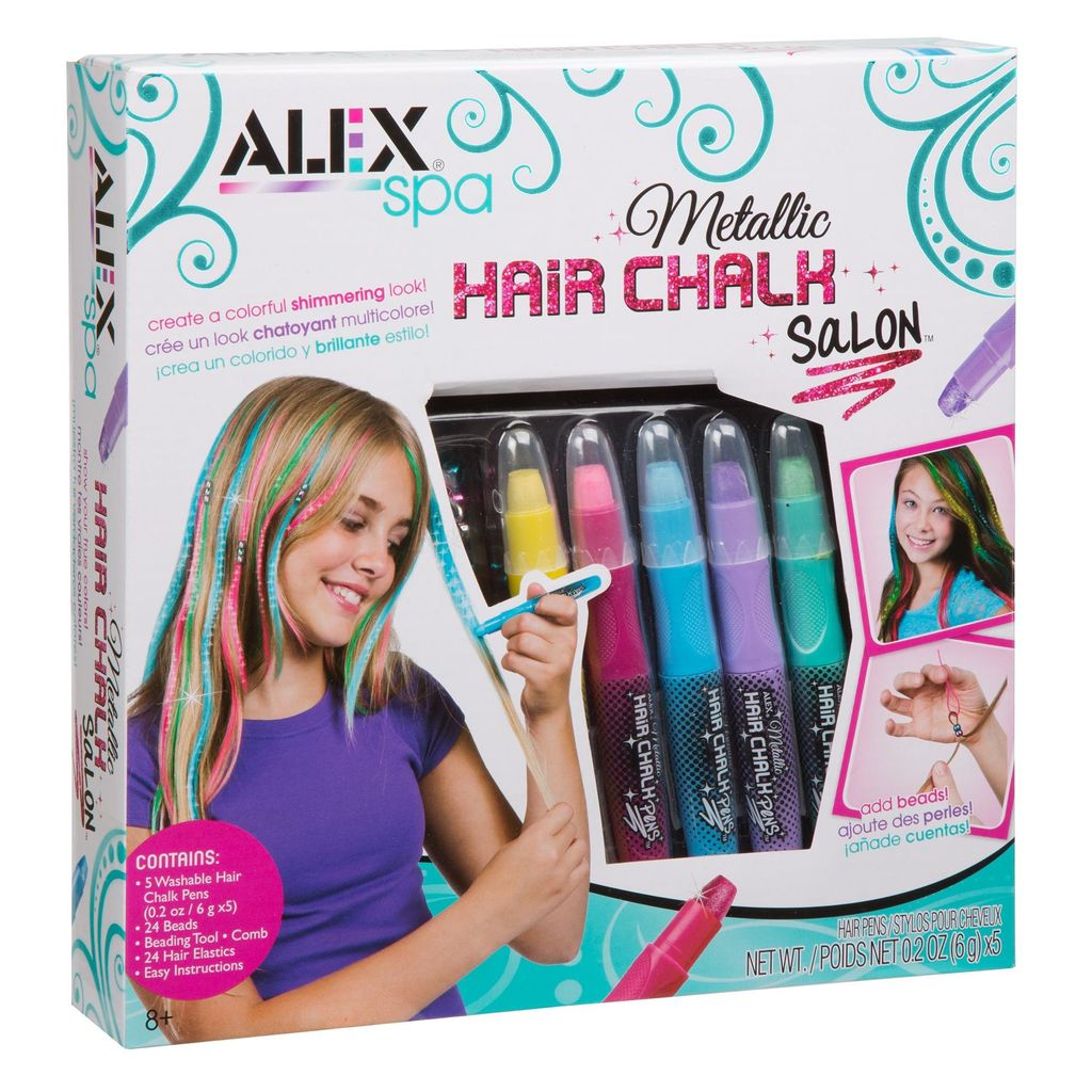 ALEX Metallic Hair Chalk Salon