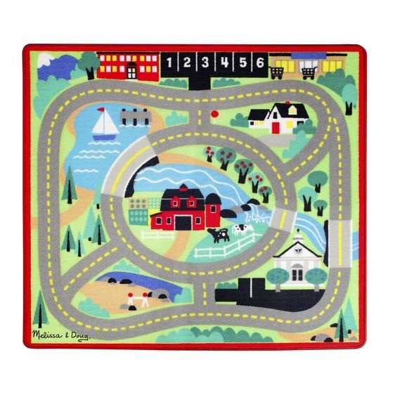 Round the Town Road Rug by Melissa & Doug