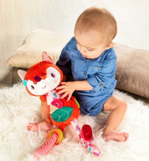 Alice Fox Activity Cuddle Toy