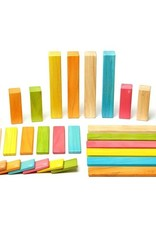 Tegu 42pc Set Tints - beautiful magnetic wooden blocks set