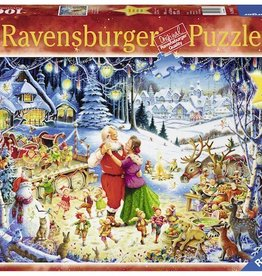 Santa's Christmas Party 1000pc Puzzle