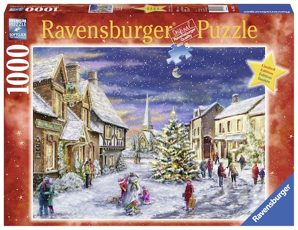 Christmas Village 1000pc Puzzle