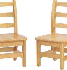 "Jonti Craft 12"" Ladderback Chair Pair"