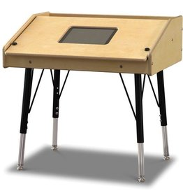 Jonti-Craft Single Tablet Table, stationary