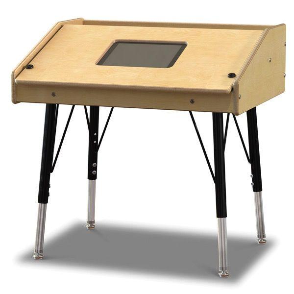 Jonti-Craft Single Tablet Table, stationary