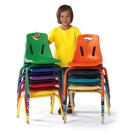 "Berries Plastic Chair 14"" Camel"