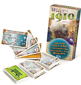 Ticket To Ride - 1910 USA expansion
