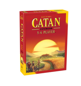 Settlers of Catan 5 & 6 Player Extension