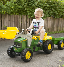 Kettler John Deere Kid Tractor with Trailer