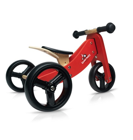 Tiny Tot Convertible 2 in 1 Trike & Pushbike RED