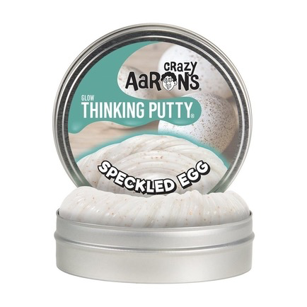 Crazy Aaron's Thinking Putty: Speckled Egg