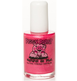 Sparkly Bright Pink Nail Polish
