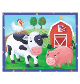 On The Farm 12pc Pouch Puzzle