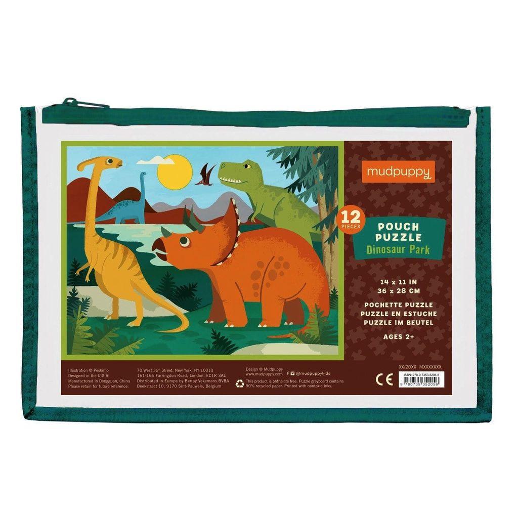 Dinosaur Park 12pc Pouch Puzzle