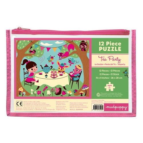 Tea Party 12pc Pouch Puzzle
