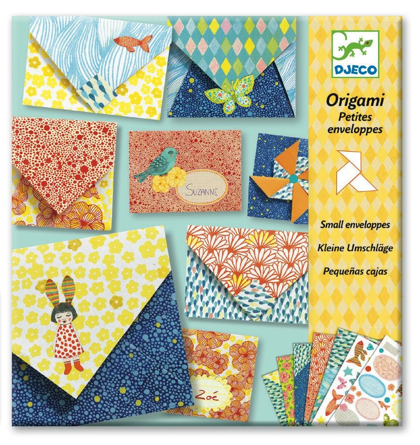 Origami Small Envelopes Kit