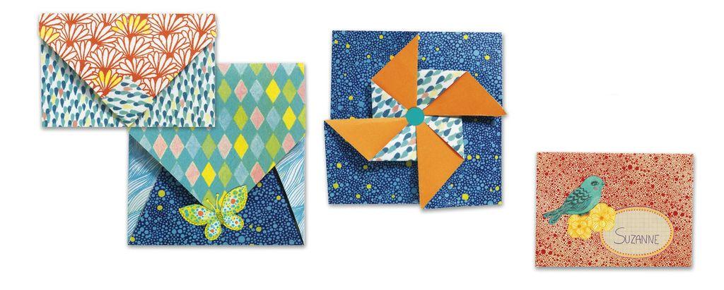 Origami Small Envelopes Kit