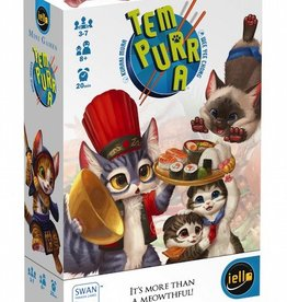 Tem-Purr-A Game - it's more than a meowthful!