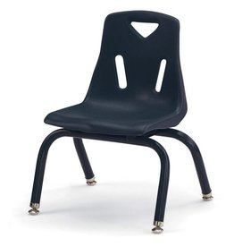 "Jonti Craft Berries Plastic Chair 10"" Navy"