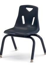 """Jonti Craft Berries Plastic Chair 12"""" Navy"""