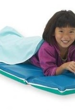 "Our deluxe, heavy-duty 2"" rest mat is made from strong 10-mil vinyl in a heat sealed mat."