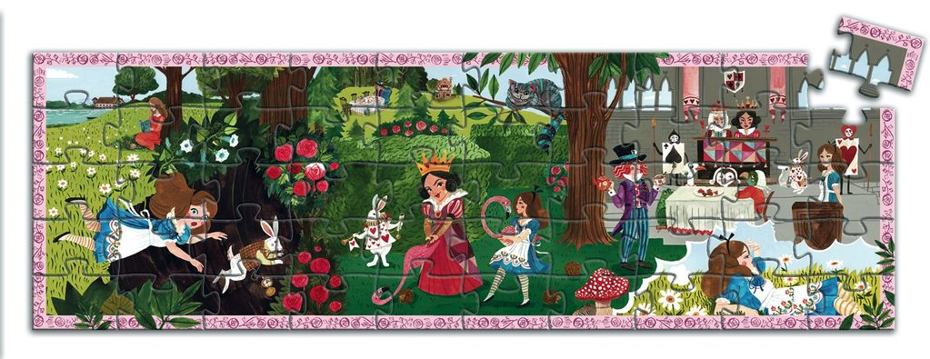 Alice in Wonderland 50pc Puzzle
