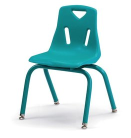 "Berries Plastic Chair 14"" Teal"