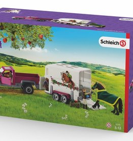 Schleich Pick Up Truck with Horse Trailer