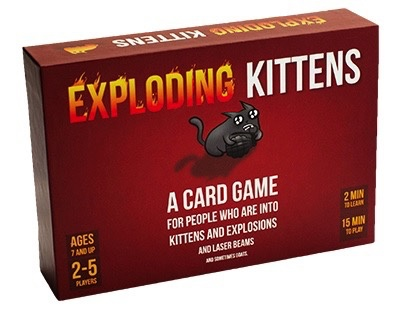 Exploding Kittens Card Game