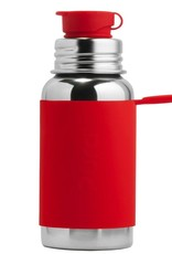 Pura Sport Stainless Steel Bottle Red Sleeve 550ml