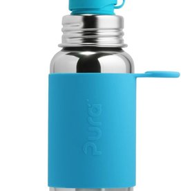 Pura Sport Bottle Aqua Sleeve 550ml