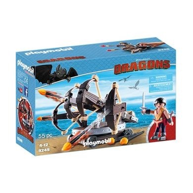 Playmobil Dreamworks Dragons - Eret with 4 Shot Fire Ballista