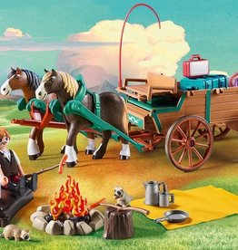 Playmobil Spirit - Lucky's Dad & Wagon
