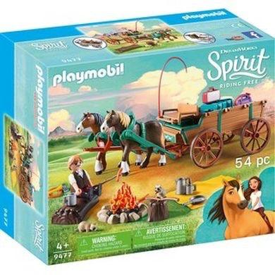 Playmobil Spirit - Lucky's Dad & Wagon
