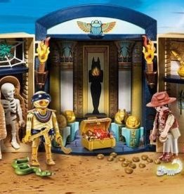 Playmobil History - Egyptian Tomb Play Box