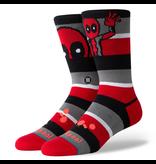 Stance Deadpool Stripe