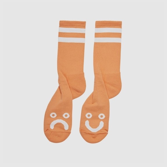 Polar Happy Sad Light Orange Socks