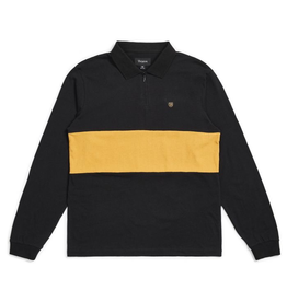 Brixton Hunt 1/4 Zip L/S Polo Knit