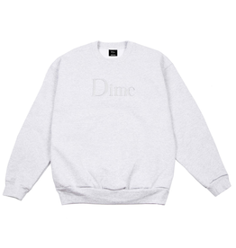 Dime Classic Logo Embroidered Crewneck
