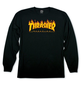 Thrasher Flame Logo Long Sleeve